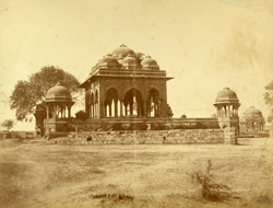No. 9. Mosque at Meerut said to be the principal resort of the mutineers.